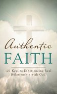 Authentic Faith eBook