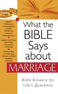 What the Bible Says About Marriage eBook
