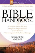 Quicknotes Bible Handbook eBook