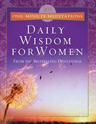 365 One-Minute Meditations From Daily Wisdom For Women eBook