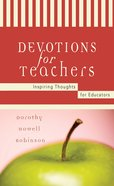 Devotions For Teachers eBook