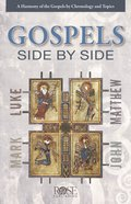 Gospels Side By Side (Rose Guide Series)