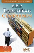 Bible Translations Comparison (Rose Guide Series)