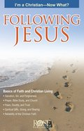 Following Jesus: I'm a Christian Now What (Rose Guide Series)