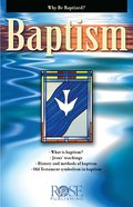 Baptism (Rose Guide Series)