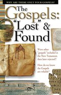 """The Gospels """"Lost"""" and Found (Rose Guide Series) eBook"""