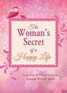 The Woman's Secret of a Happy Life eBook