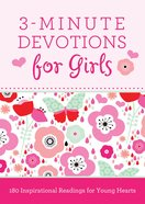 3-Minute Devotions For Girls eBook