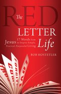 The Red Letter Life eBook