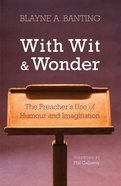 With Wit and Wonder eBook