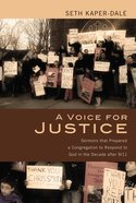 A Voice For Justice eBook