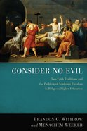 Consider No Evil eBook