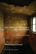 The Hebrew Prophets After the Shoah eBook
