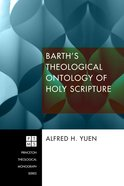 Barth's Theological Ontology of Holy Scripture eBook