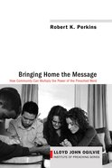 Bringing Home the Message eBook