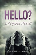 Hello? is Anyone There? eBook
