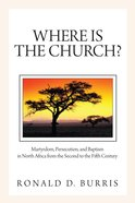 Where is the Church? eBook
