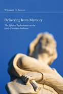 Delivering From Memory eBook