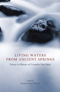 Living Waters From Ancient Springs eBook