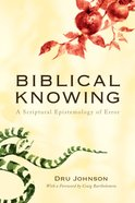 Biblical Knowing eBook