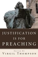 Justification is For Preaching eBook