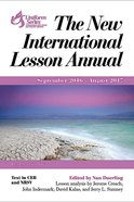 The New International Lesson Annual 2016-2017 eBook