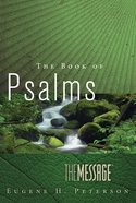 The Message the Book of Psalms eBook