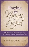 Praying the Names of God eBook