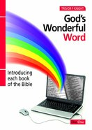 God's Wonderful Word eBook