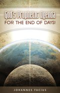 God's Prophetic Agenda eBook
