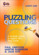 Puzzling Questions (Course Leader's Guide And Cd-rom) Paperback