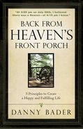 Back From Heaven's Front Porch eBook