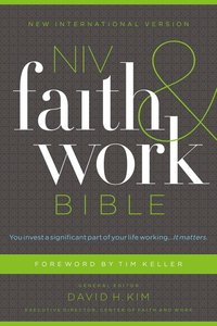 NIV, Faith and Work Bible, Ebook