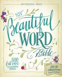 NIV Beautiful Word Bible Chocolate/Turquoise