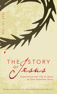 Story of Jesus, the Teen Edition (NIV) (The Story Series)