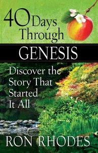 40 Days Through Genesis