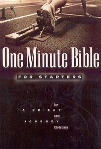 One Minute Bible For Starters (One Minute Bible Series)