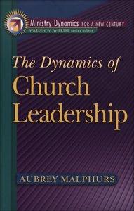Dynamics of Church Leadership