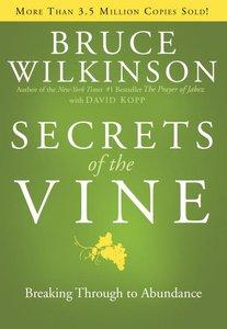 Secrets of the Vine (#02 in Breakthrough Series)