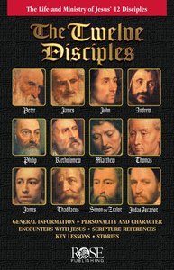Twelve Disciples (Rose Guide Series)