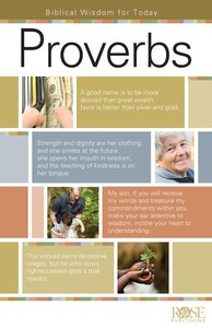 Proverbs (Rose Guide Series)