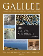 Galilee in the Late Second Temple and Mishnaic Periods eBook