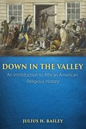 Down in the Valley: An Introduction to African American Religious History Paperback