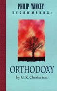 Orthodoxy Paperback