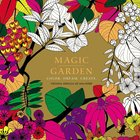 Magic Garden (Adult Coloring Books Series)