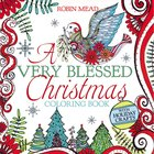 A Very Blessed Christmas Coloring Book (Adult Coloring Books Series)