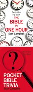 The Bible in One Hour & Pocket Bible Trivia Hardback