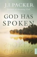 God Has Spoken Paperback