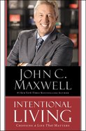 Intentional Living (Unabridged, 7 Cds) CD
