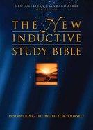 NASB New Inductive Study Hardback